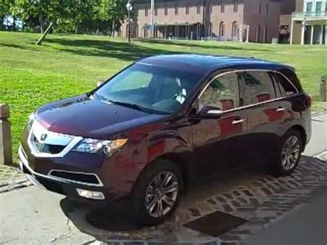 2010 Acura Mdx 0 60 2010 Acura Mdx Advance Package 0 60 Mph Drive Sport 2017