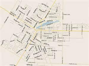 stratford ontario canada map stratford map ontario listings canada