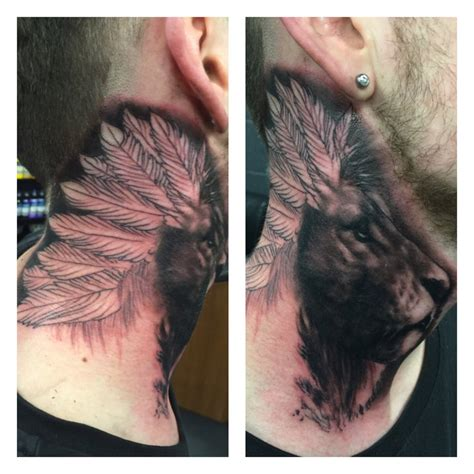 neck tattoo cover up kevin paul on quot had a day today in the