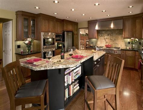 Kitchen Islands Ideas With Seating Large Kitchen Islands With Seating Tjihome