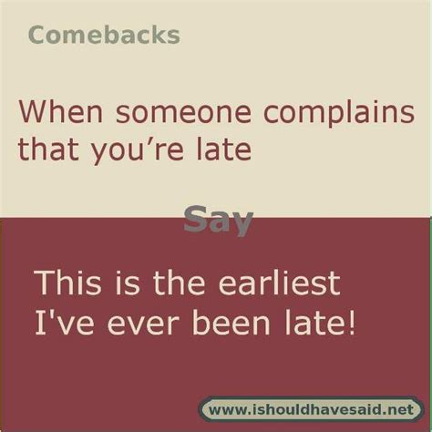 8 Awesome Comebacks by Comebacks To Say Quotes Www Pixshark Images