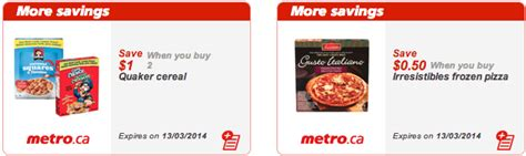 printable grocery coupons ontario canada metro ontario canada printable grocery coupons march 7