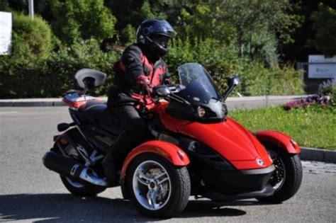 Motorrad Fahren Ausprobieren by Spyder Tour Durch Stuttgart