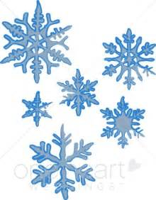 Clipart of snowflakes snowflake wedding clipart
