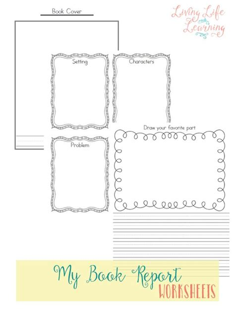 book report pages free book report pages free homeschool deals