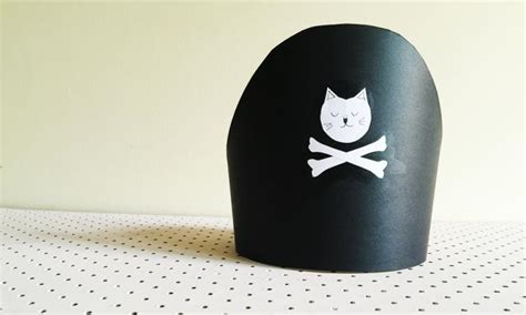 Make Your Own Paper Hat - make your own paper pirate hat kidspot
