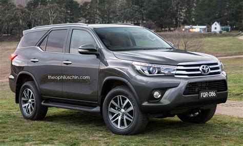 Toyota Hilux Swapping Faces with Toyota Fortuner Totally