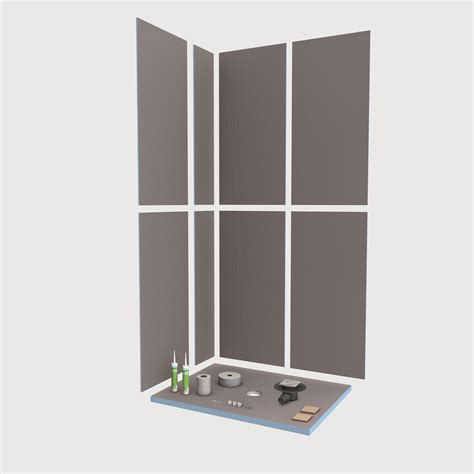 dusch le wedi fundo primo floor level shower element with point