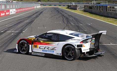 Mugen CR Z Super GT Race Car Hits the Track   Video