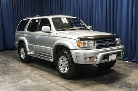 suv toyota 4runner used 1999 toyota 4runner limited 4x4 suv for sale 35602a