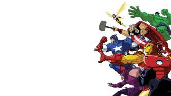 avengers cartoon wallpaper wallpapersafari