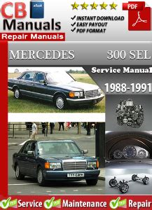 mercedes benz 300sel w126 1988 1991 factory workshop service manual mercedes 300sel 1988 1991 factory workshop manual factory service manuals