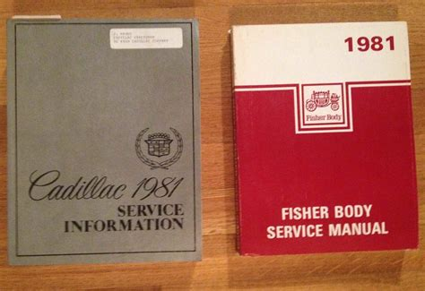 service manual free repair manual for a 1981 mercedes benz w126 mercedes 280sl haynes repair 1981 cadillac shop and fisher body service manuals