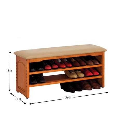 wood shoe rack mango wood shoe rack by mudramark solid wood
