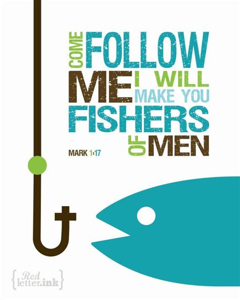 mark 1 14 20 clip art fishers of men wall art 3 color combinations mark 1 17