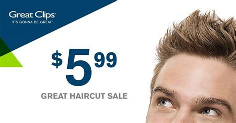 great clips 5 99 haircuts through may 6th frugal in