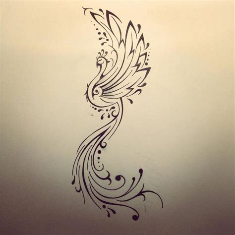 phoenix design tattoo design