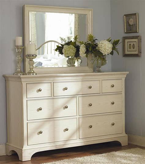 bedroom dresser decor master bedroom ashby park dresser with 7 drawers and beveled vertical mirror by american drew
