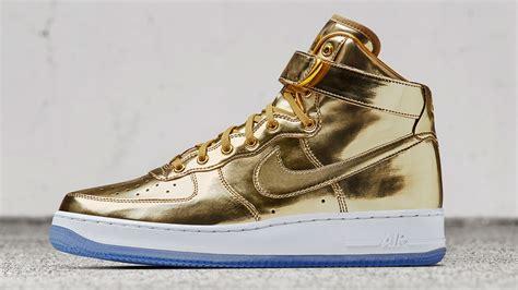 Air Gold gold gold nike air 1 and nike air max 90