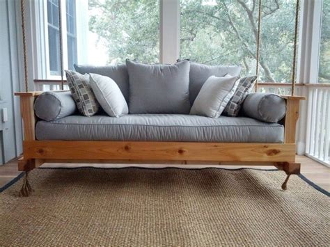building a daybed how to build a hanging daybed swing diy projects for