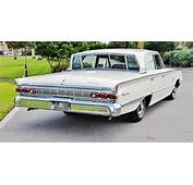 1964 Mercury Montclair Breezeway For Sale Rear  60s