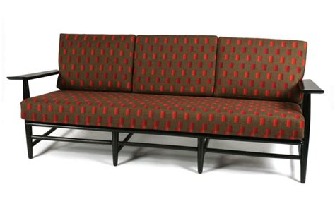 1950?s Italian Sofa   red modern furniture