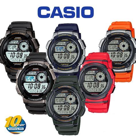 Jam Tangan Original Casio W 216h 3b 3 jual casio ori ae1000w ae1000 w ae 1000w ae 1000 w 1a 2a