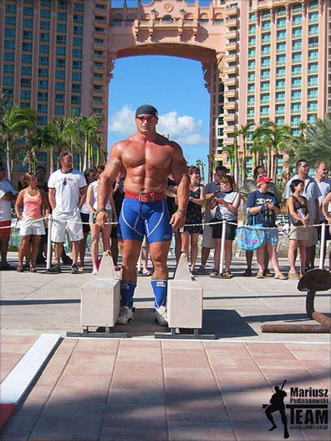 Big Bench Workout by World S Strongest Man Competitor Mariusz Pudzianowski