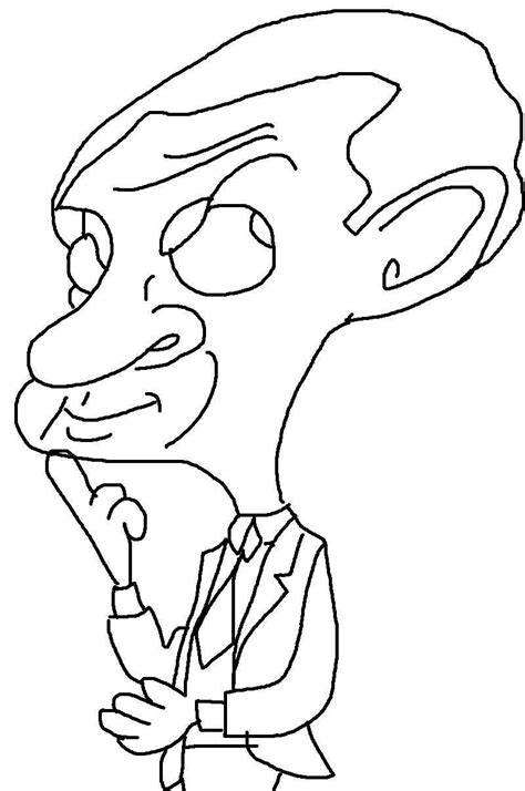 Mr Bean Printable Coloring Pages For Kids24 Printable Coloring Pages Mr Printables