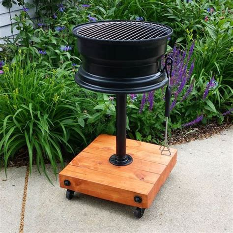 diy pit from gas grill 10 creative recycling diy grill bbq and pit projects