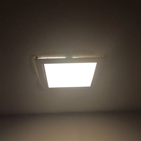 Replace Ceiling Light Lighting Replacing Square Flush Mount Light Falling Out