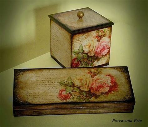 decoupage tea box 452 best images about painted stuff and decoupage on