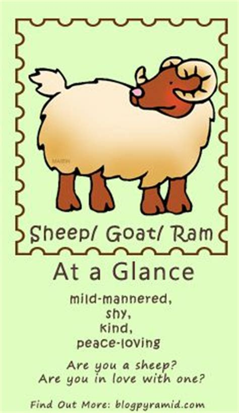 the sheep personality chinese astrology pinterest