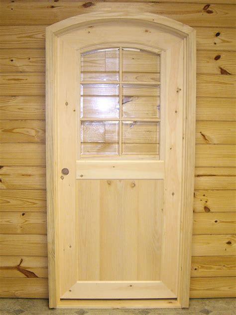 Cedar Exterior Door Custom Built Wooden Barn Doors Quality Amish Built Interior Exterior Doors