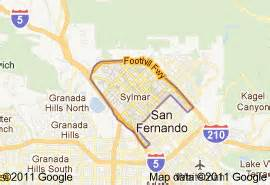 sylmar california map sylmar fence company builds fences in sylmar