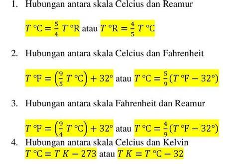 Termometer Fahrenheit fisika teori suhu fisika indonesia
