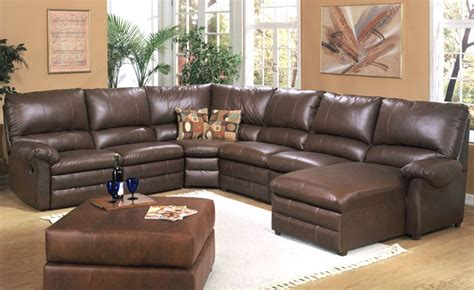 Leather Sectional Sofa by Leather Sectional Sofas Plushemisphere