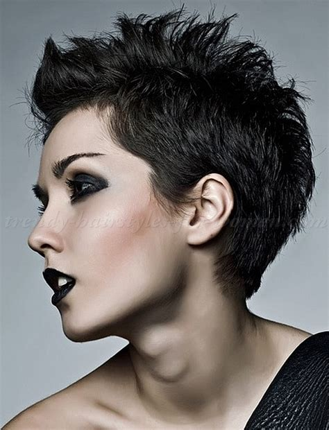 faux hawk hairstyles for women over 40 short hairstyles short faux hawk for women trendy