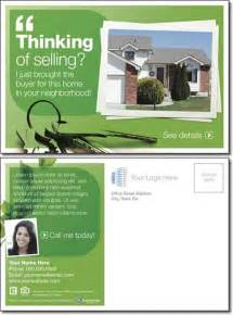 real estate cards template 10 best images about real estate postcard design ideas on