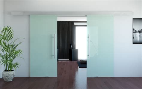 Modern Frosted Glass Interior Doors Sinappinenkone