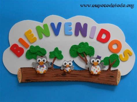 imagenes de carteleras escolares informativas www unpocodetodo org cartel bienvenidos de buhos