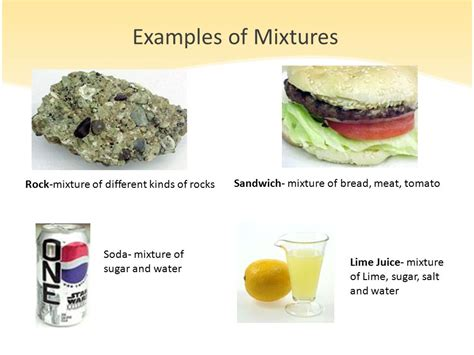 exle of mixture separation of substances from mixtures ppt