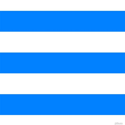 Dodger Blue by Dodger Blue And White Horizontal Lines And Stripes