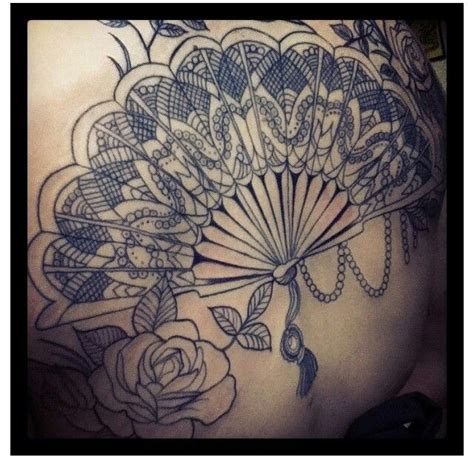 japanese fan tattoo fan favors ink fan and