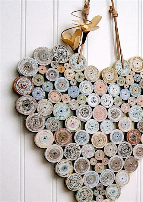 Recycle Paper Crafts - 25 best ideas about recycled paper crafts on