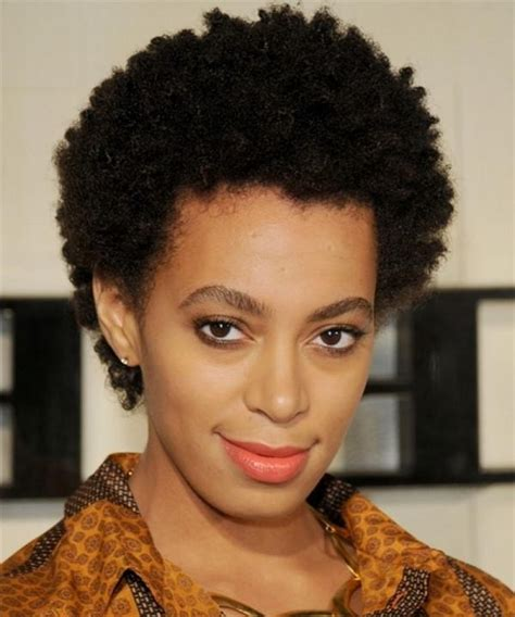 short afro hairstyles for round faces 2018 latest short hairstyles for african american women