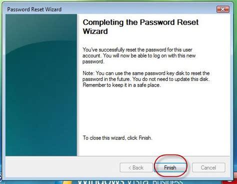 reset windows password before logon how to create and utilize a vista password reset disc