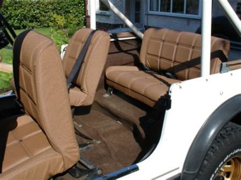 Cj Upholstery by 78 Uk Golden Eagle And Korean Korando Duke Jeep