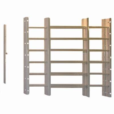 swing away window bars grisham pp spag 6 bar window guard in white 91661 the