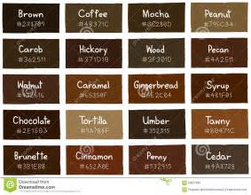 brown color names name of shades of brown brown hairs